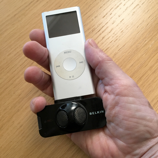 iPod as recording device